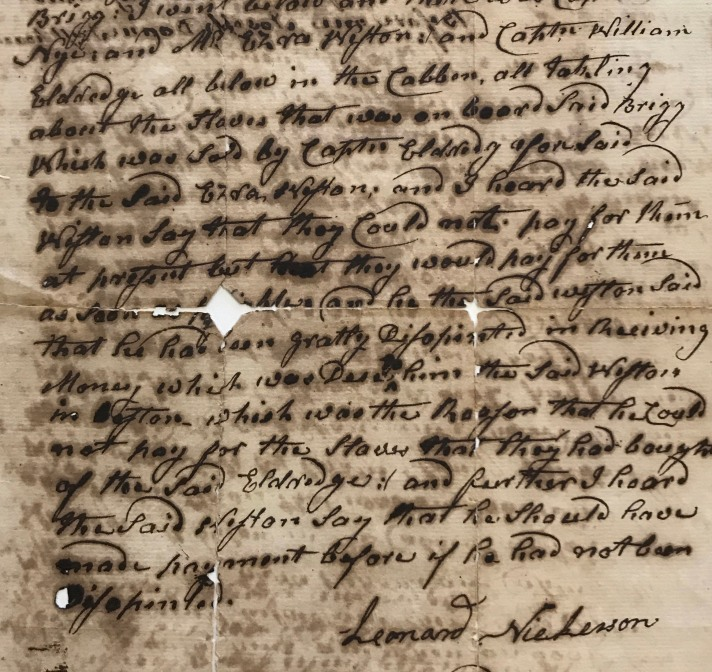 1777 court account