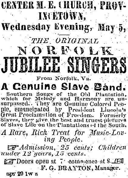 Norfolk Jubilee Singers